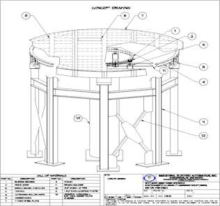 Go To IEA:  Sample CAD Drawing